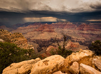3918 Lightning Storm, Grand Canyon