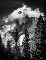 Snow Capped Half Dome