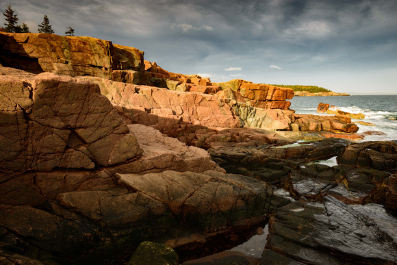 9493 Acadia NP,  Near Thunder Hole